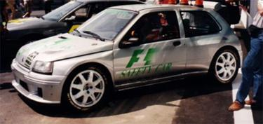 Clio F1 SAFETY CAR